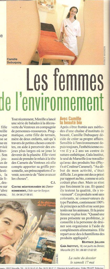 Premier article en 2008